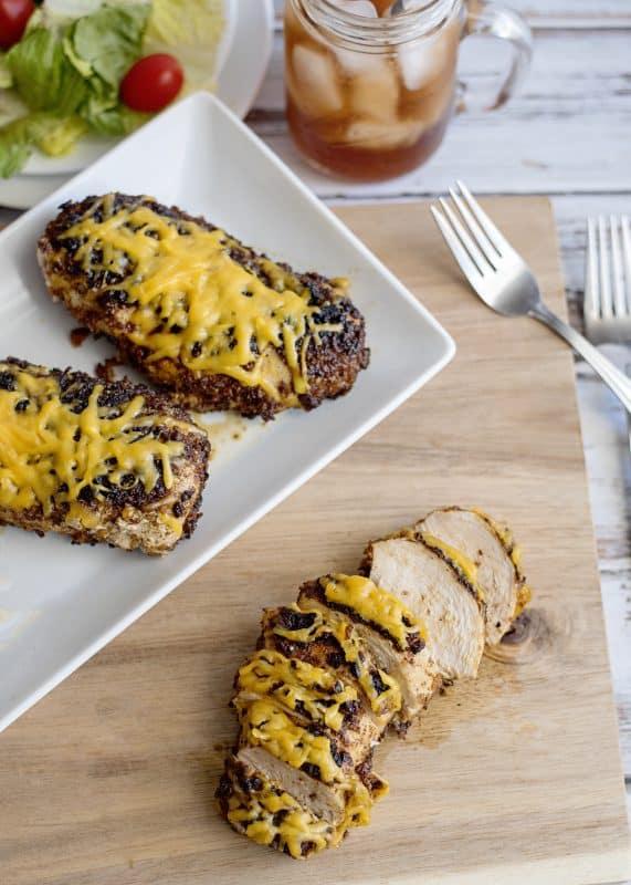 Crunchy Blackened Chicken