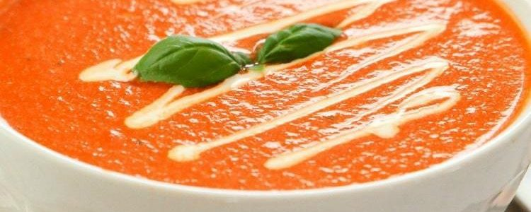 EASY TOMATO BASIL SOUP - Butter with a Side of Bread