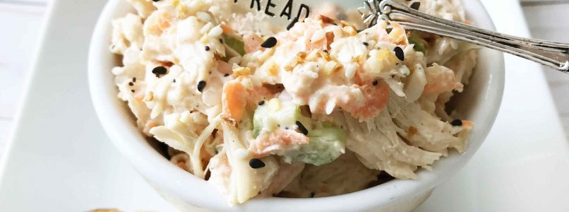 Everything Chicken Salad — The Skinny Fork