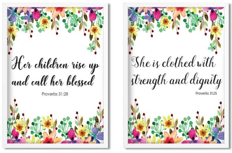 Free Proverbs 31 Gifting Printables