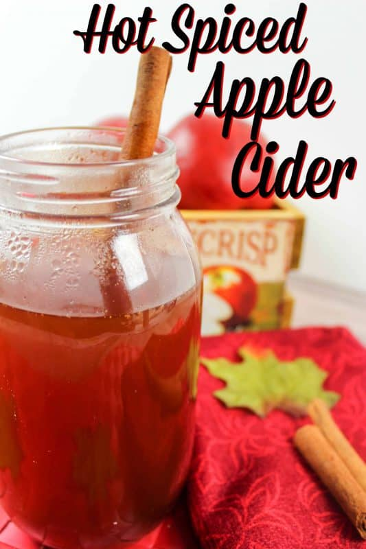 Hot Spiced Apple Cider