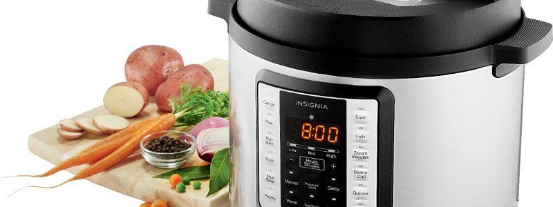 insignia pressure cooker review