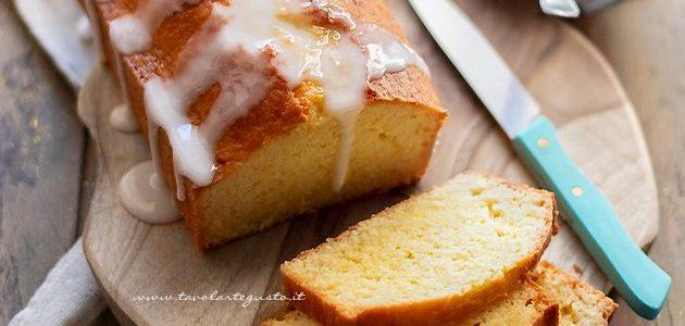 Lemon Plumcake - Lemon Plumcake Recipe