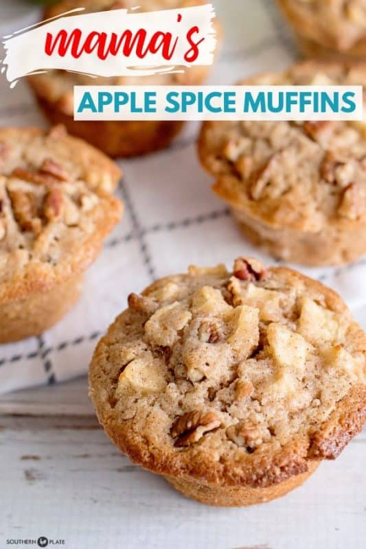 Mama's Apple Spice Muffins - Best Muffin I've Ever Tasted!