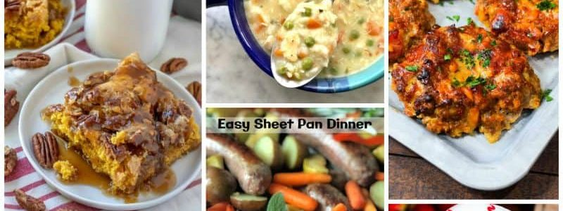 Meal Plan Monday #185 - Southern Plate
