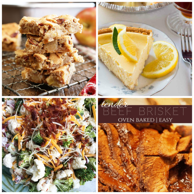 Collage of recipes from Meal Plan Monday
