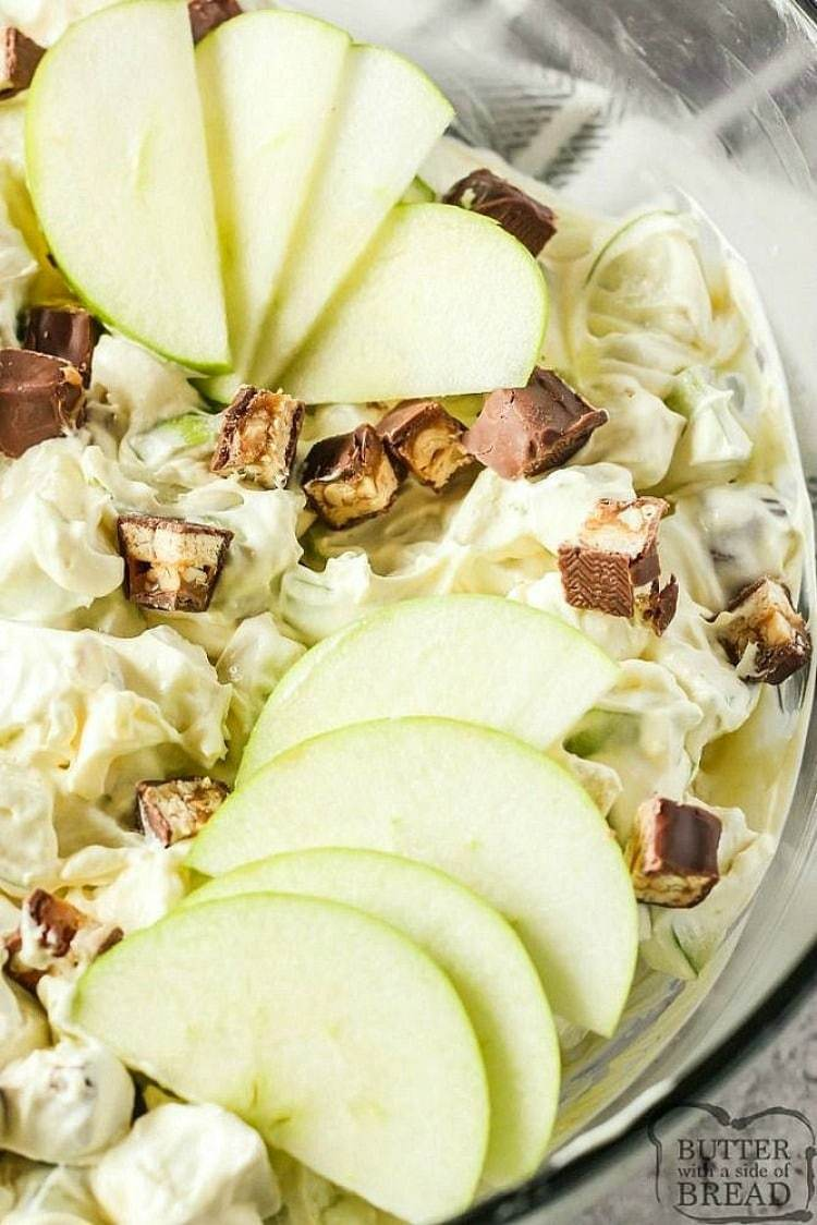 snickers salad recipe with apples