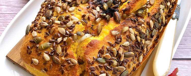 salty pumpkin plumcake