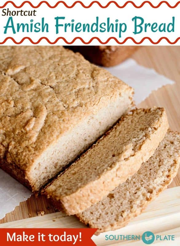 Shortcut Amish Friendship Bread - Make it today!