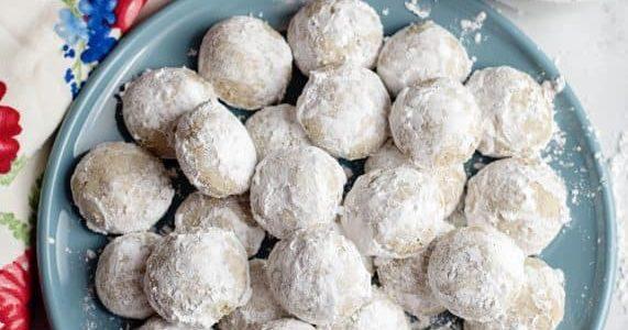 Snowball (Pecan Nougat) Cookies