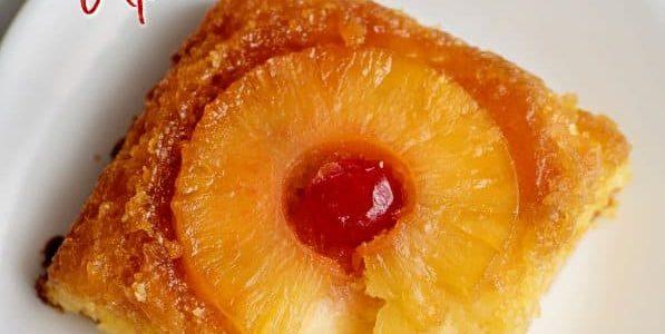 Super Moist Pineapple Upside Down Cake