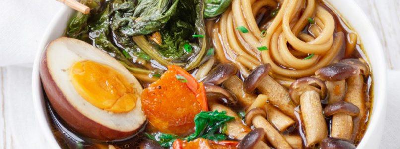 Vegetarian Ramen with Balsamic Vinegar of Modena PGI