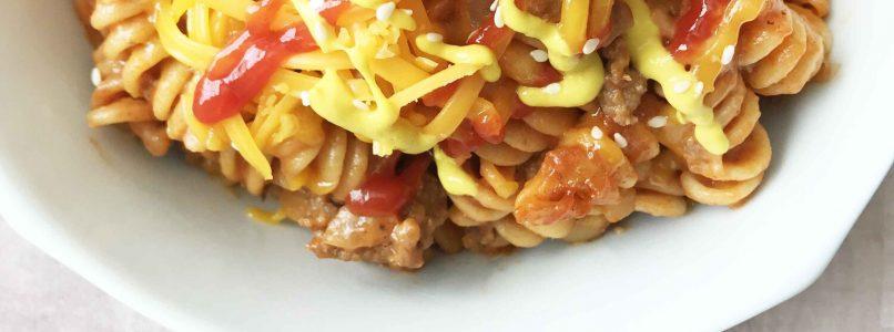 Whole Wheat Cheeseburger Casserole — The Skinny Fork