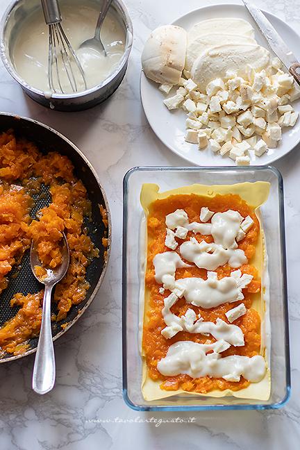 how to make pumpkin lasagna
