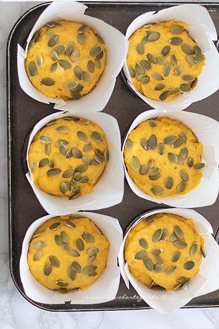 ready-to-bake pumpkin muffins